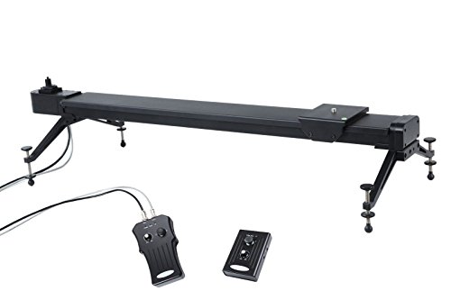Movo WMS80 37'' Wireless Motorized Camera Track Slider Video Stabilization System for Cinema Film and Time Lapse Photography by Movo