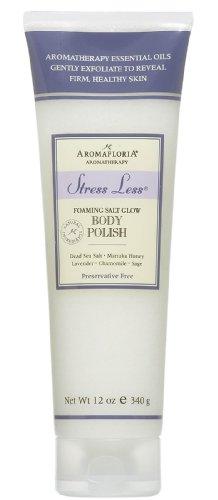 (Aromafloria StressLess Foaming Body Polish - Lavender - 12 oz)