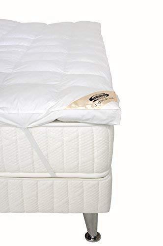 Simmons K92B090190 Cubrecolchón (90 x 90 x 5 cm), color blanco, blanco, 140 x 190: Amazon.es: Hogar