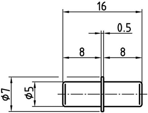 Duplo Bodentr/äger 5 mm 200 St/ück Stahl galvanisch verzinkt