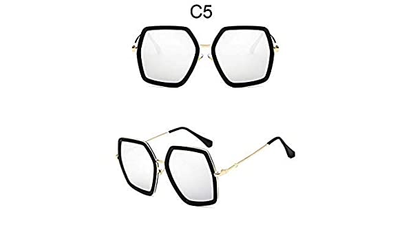 Sellify Kasuki gran espejo gafas de sol para las mujeres ...