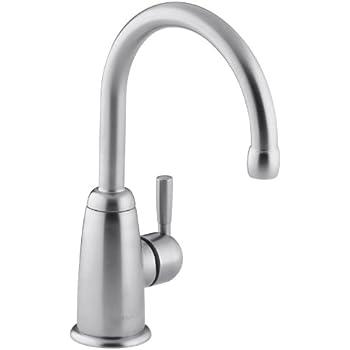 KOHLER K-6665-G Wellspring Beverage Faucet, Brushed Chrome