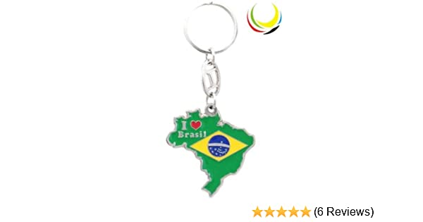 Keychain - BRAZIL MAP-