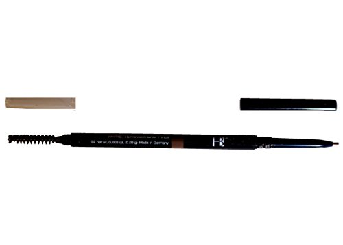 Faces Beautiful Precision Brow Pencil: Long Lasting Eyebrow Definer Pen and Brush Stylist - Brunette