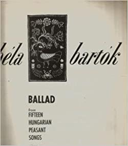Ballad from 15 Hungarian Peasant Songs - PIANO SOLO: G3LQ Bartok