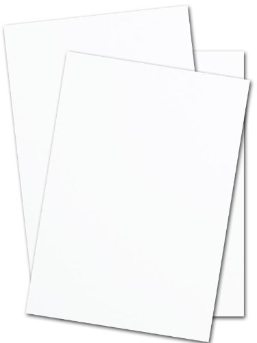Cougar White 160# Double Thick Card Stock 8.5x11 - 25 Pk