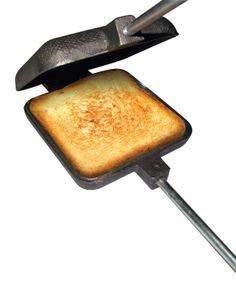 Pack of 2 Cast Iron Pie Cooker Campfire Sandwich Maker