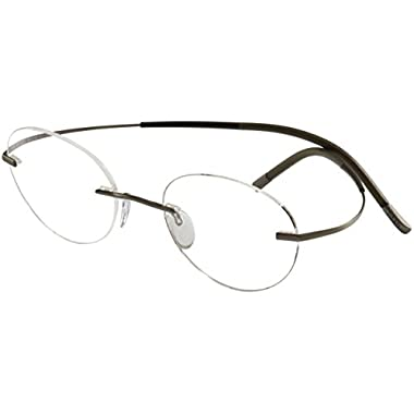 17a1a0a439 Silhouette Eyeglasses Titan Minimal Art Chassis 7581 6055 Optical Frame  19x150mm