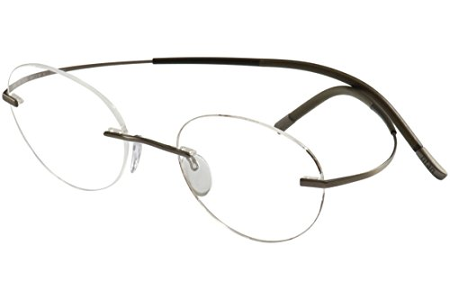 Silhouette Eyeglasses Titan Minimal Art Chassis 7581 6055 Optical Frame 19x150mm