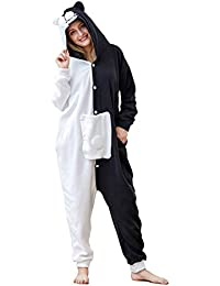 Animal Onesie Adult Cosplay Costume Onepiece Sleepwear Halloween Pajamas
