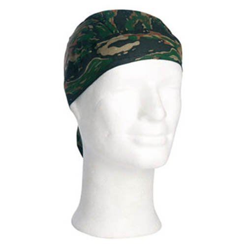 (Mil-Tec Headwrap (Tiger Stripe Green))