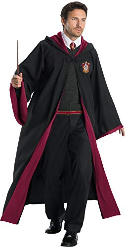 Gryffindor Costumes Homemade - Charades Gryffindor Student Adult Costume, As