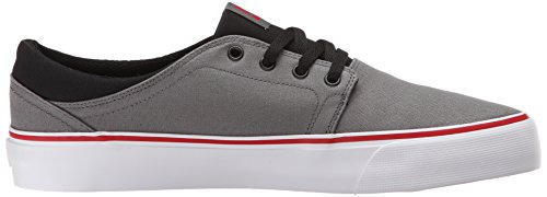 DC Trase TxWht Herren Sneakers Grey/Black/Red