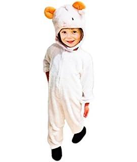 Sombrero de los niños de cabra cuentos de animales blanco Accesorio de  cabeza de cabra cabras ... 41fb88727f5