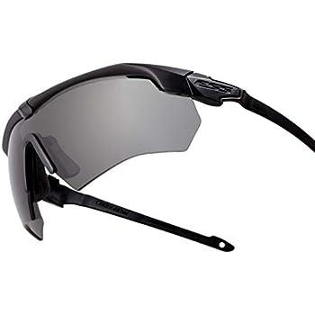 bc51cac497 ESS Sunglasses Crossbow Suppressor 2X+ Kit Black w Clear Gray Hi-Def Copper  Lens