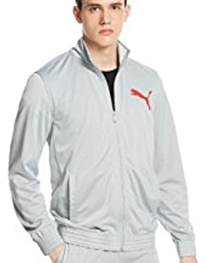 Contrast Full-zip Track Jacket Quarry Grey Medium