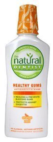 Healthy Gums Mouth Rinse Orange Zest 16 oz, (Pack of 4)