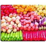 MSD Natural Rubber Gaming Mousepad IMAGE ID 27346491 Colorful of Thai sweet called Look Choub
