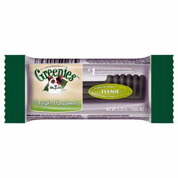 Greenies Weight Management Individually Wrapped Dental Dog Treats