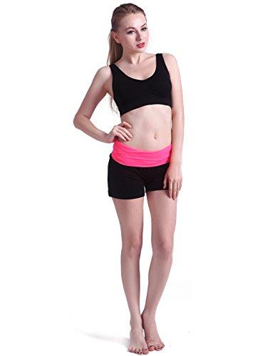 HDE-Womens-Yoga-Workout-Shorts-Exercise-Mini-Hot-Shorts