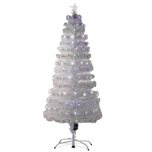 Fibre Optic Xmas Tree With Led Lights