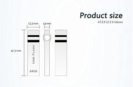 1000gb RUICHENXI USB Flash Drive 1TB Waterproof Thumb Drive Storage Memory Stick with Keychain