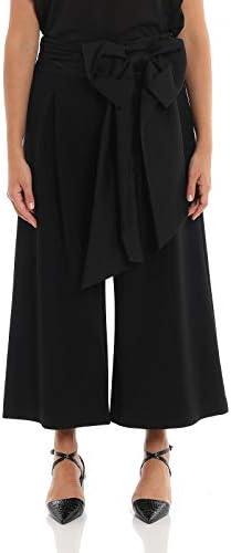 MOSCHINO Luxury Fashion Femme A031254241555 Noir Polyuréthane Pantalon | Automne-Hiver 19