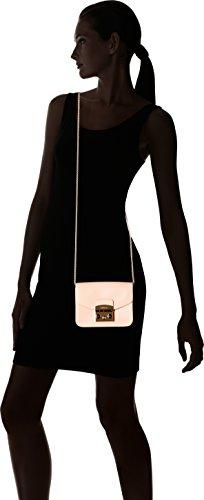 Furla Metropolis Mini Crossbody - Bolsos bandolera Mujer Rosa (Rosa Chiaro C)