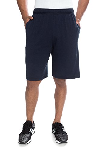 Texeresilk Texere Mens Jersey Shorts With Pockets  Midnight Blue  X Large  Great Birthday Any Occasion Gift Ideas For Nephew Uncle Brother Grandpa Tx Mb131 001 Mnbu R Xl