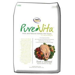 Cheap PureVita Duck and Oatmeal Dry Dog Food – 25lb bag