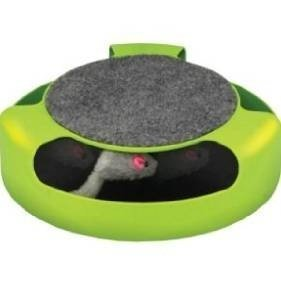 Feline Frenzy Cat Toy with Scratch Pad by FinePet