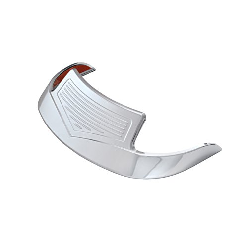 Chrome Front Fender Accent - Show Chrome Accessories 91-310 Front Fender Tip Accent