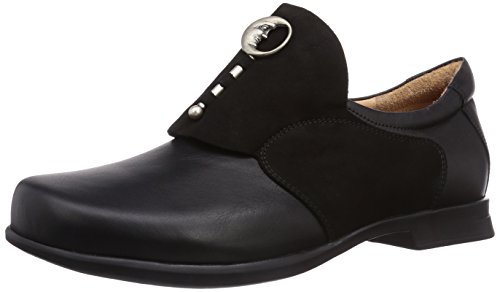 Shoes Schwarz Pensa Loafer Womens Leather Think wxS1fF6qn