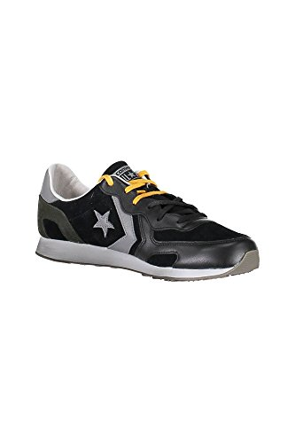 5 Scarpa 9 Ox black Auckland Converse Suede Racer 42 MainApps Leather wzzgqZS