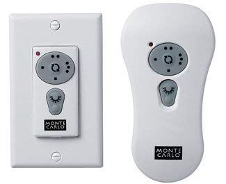 - Monte Carlo CT100 Combo Wall and Hand Held Transmitter with Down Light and Reverse Controls, See Image
