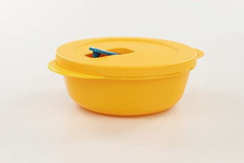 Tupperware Microondas crystalwave 600 ml Bowl Naranja Micro Micro Wave Pop Plus 17597