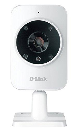 182 opinioni per D-Link DCS-935L Videocamera di Sorveglianza HD, Wi-Fi N, Visore Notturno,