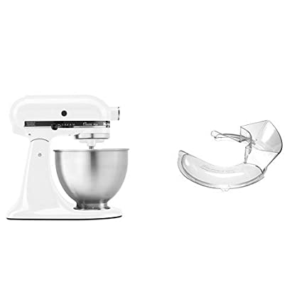 Amazon.com: KitchenAid KSM75WH Classic Plus Series 4.5-Quart ...