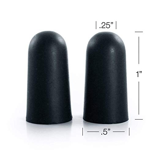 Black Noise Premium Ear Plugs | 33db NRR Noise Cancelling, Soft & Durable Ear Plugs for Concerts, Sleeping, Musicians, Motorcycles, Shooting, Loud Work Environments and Sports, Travel and Study - 100 by Black Noise                                                                                (Image #5)