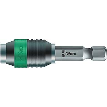 Wera 889//4 Rapidaptor Universal Quick Release Bit Holder 75mm 100mm 50mm