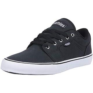 Etnies Men's Division Skate Shoe, Black, 7 Medium US