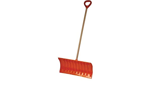 Amazoncom Emsco Bigfoot 25 Poly Pusher Snow Shovel With Wooden