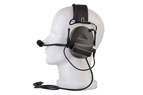 Z Tactical Headset Headphone COMTAC 2 Style Noise Reduction