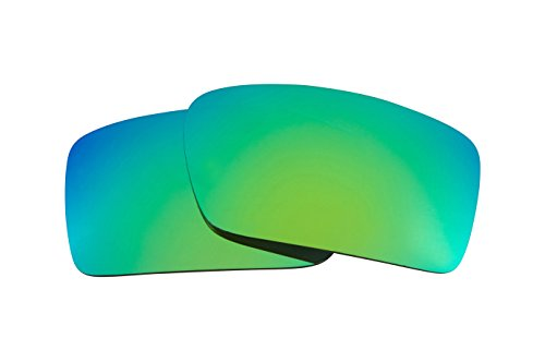 Best SEEK OPTICS Replacement Lenses Oakley GASCAN - Emerald Green - Green Polarized Replacement Lenses