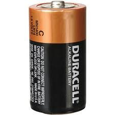 Duracell 413333848 Battery Alk C 4Pk