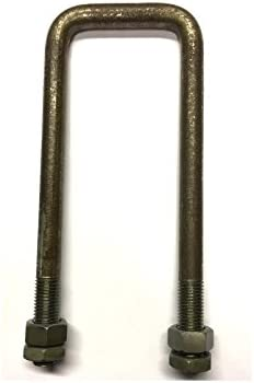 C Bolt M10 x 40 mm Thread T316 41 x 155 mm Internal Dimensions Square Bolt