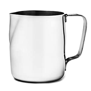 Chef's Star Stainless Steel Frothing Pitcher, 12 Ounce by Chef's Star