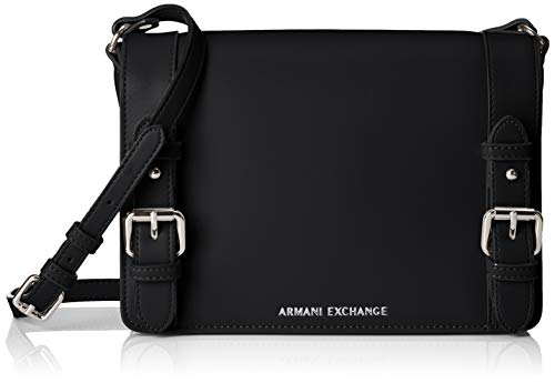 (A|X Armani Exchange Medium Bag, nero - black 94)