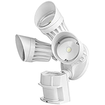 Lithonia Lighting Oflr 9ln 120 Mo Wh M2 3 Light Outdoor