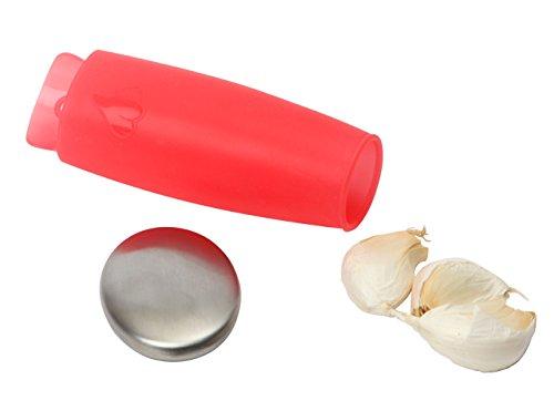 Dexam Handheld Garlic Peeler and Odour Remover Set by Dexam